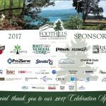 2017 Celebration Sponsors