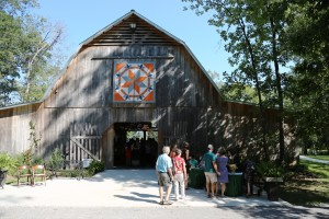Entrance to the barn