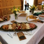 Many thanks to Holly Hambright's team for a delicisous spread of southern food!