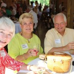 Former FLC Board Member, Burke Pinnell, with wife Lezah and Mary Kay Sullivan.