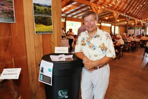 Bruce Rein is the rain barrel winner!