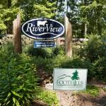 Entrance at RiverView Family Farm