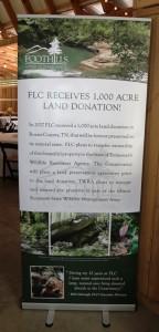FLC Banner Highlights 2017 1000 Acre Land Donation