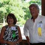 FLC Board Member Sherry Browder with FLC Executive Director Bill Clabough