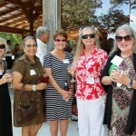 Pictured far right: FLC Board Member, Jenny Hines, with friends