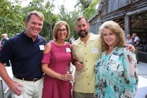 John & Diana Patterson with Joe & Pam Heckman