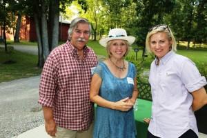 Mark Uhran & Diane Powell with RiverView's Rachel Samulski