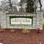 Entrance sign to Jarvis Park