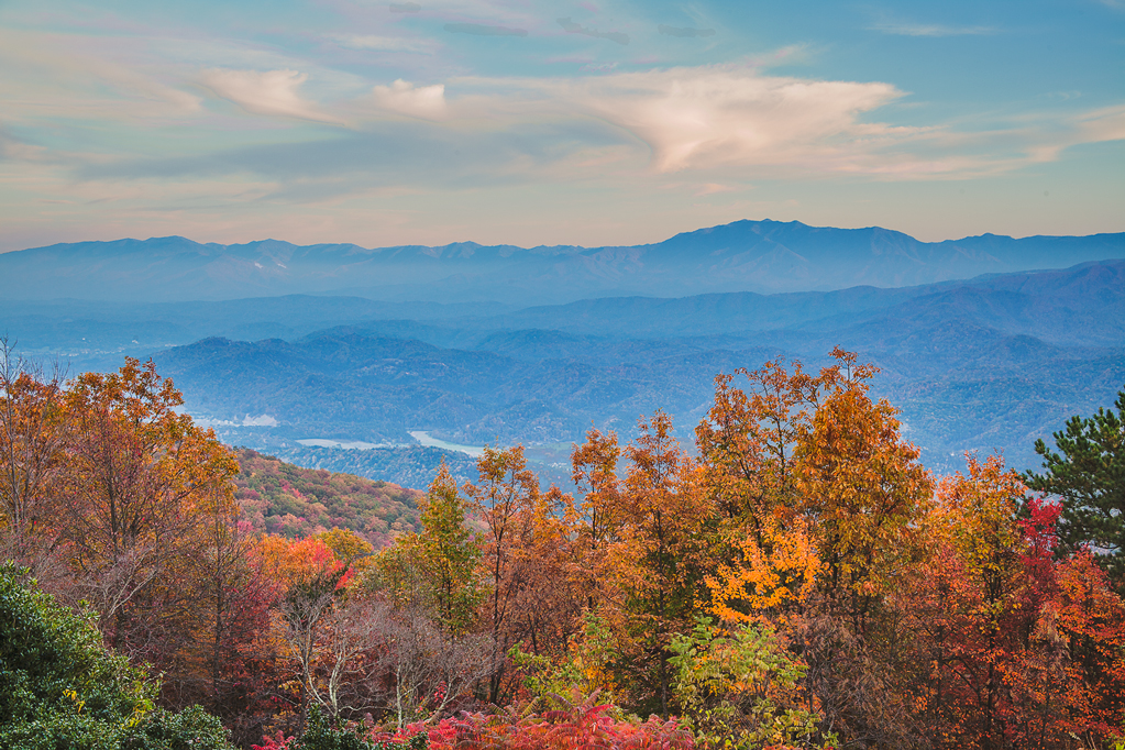 Image taken from Bluff Mountain in Sevier County. Photo courtesy of Mike Naney.