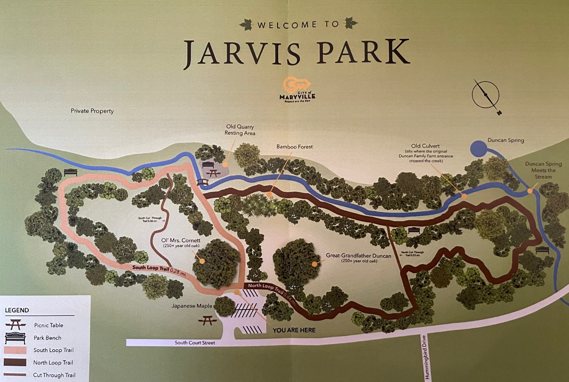 Jarvis Park Map